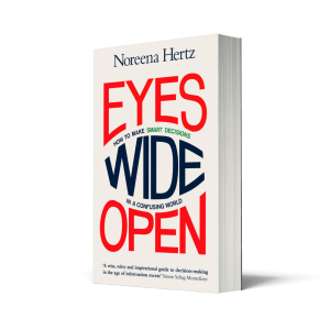 Eyes Wide Open, Noreena Hertz, Independent Booksellers, Independent Bookshops