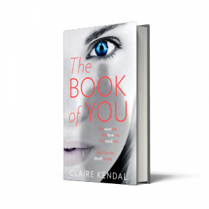 Book of You, Claire Kendal, HarperCollins, HarperCollins Independent thinking, independent thinking, independent bookshops, independent booksellers