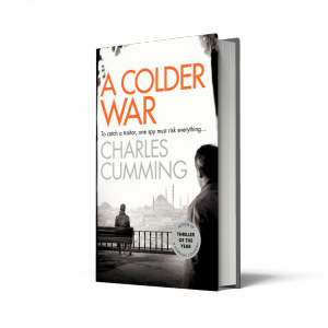 A Colder war, Charles Cumming, John Le Carre, Thomas Kell, HarperCollins, HarperCollins Independent Thinking, HCIndyThinking, Independent booksellers, independent bookshop
