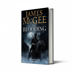 The Blooding, James McGee, HarperCollins, HarperCollins Independent Thinking, Independent Thinking, HCIndyThinking, independent booksellers, independent bookshops