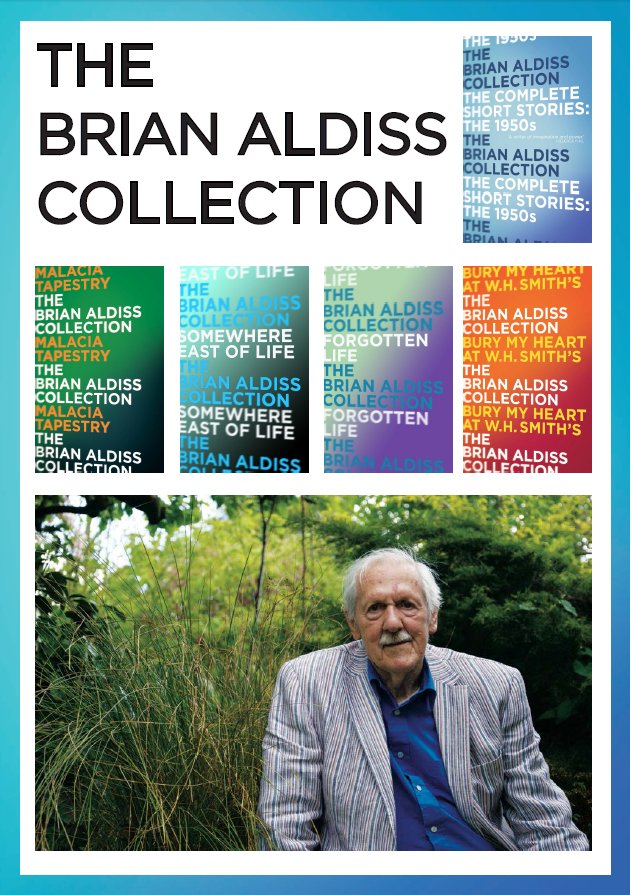 Brian Aldiss, The Friday Project, Science Fiction, HarperCollins, HarperCollins Independent Thinking, Independent Thinking, HCIndyThinking, independent booksellers, independent bookshops