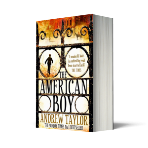 The American Boy, Andrew Taylor, Scent of Death, Independent Bookshops, Independent booksellers